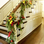 Decorated Staircase Webb House
